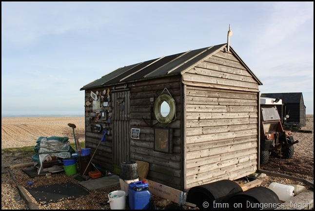 Hut on Dungeness beach
