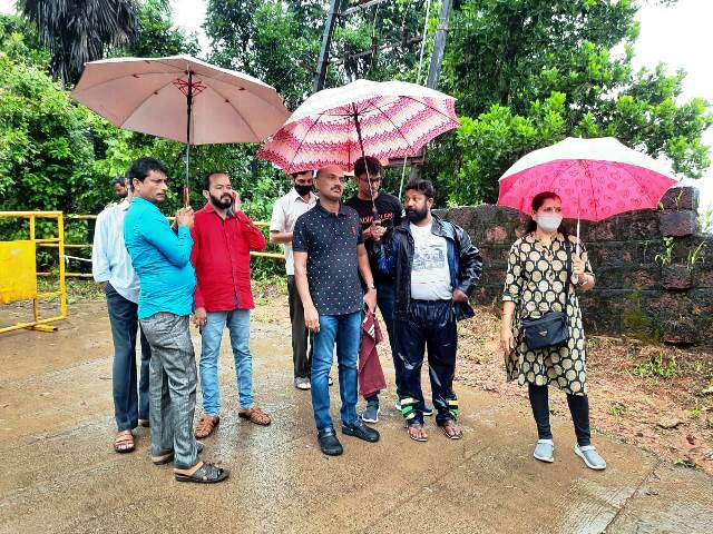 ಅಳಪೆ ಉತ್ತರ ವಾರ್ಡ್ನಲ್ಲಿ ಮನೆಗೆ ಹಾನಿ: ಮೇಯರ್ ದಿವಾಕರ್ ಭೇಟಿ, ಅಗತ್ಯ ನೆರವಿಗೆ ಸೂಚನೆ