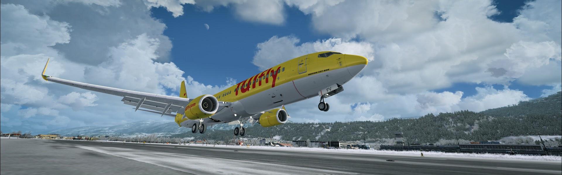 Innsbruck LOWI - ORBX - review (6*) • C-Aviation