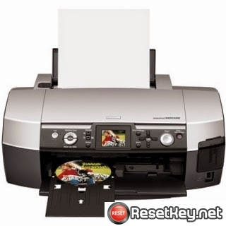 Reset Epson R340 Waste Ink Counter overflow problem