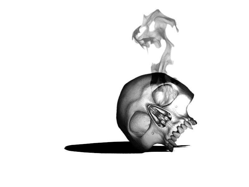 Dark Burning Skull, Death