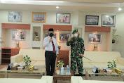 Letkol Nurliwedie Jalin Sinergi Dengan Silaturahmi Kepada Bupati HSS