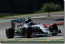 Nico Rosberg conquista la pole del gran premio del Belgio 2016