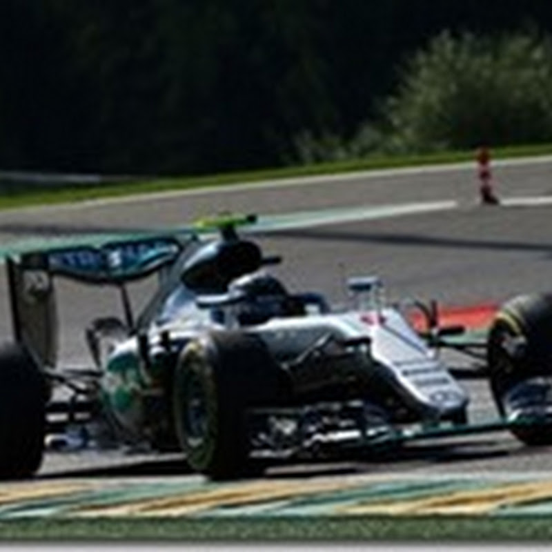GP del Belgio: Rosberg in pole. Ferrari in seconda fila
