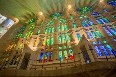Sagrada Familia Stained Glass Barcelona