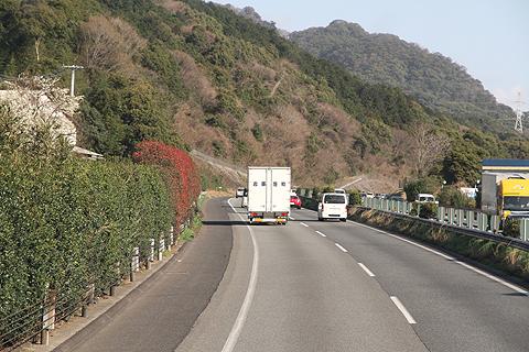 JR九州バス「福岡山口ライナー」 744-2952 九州道走行中