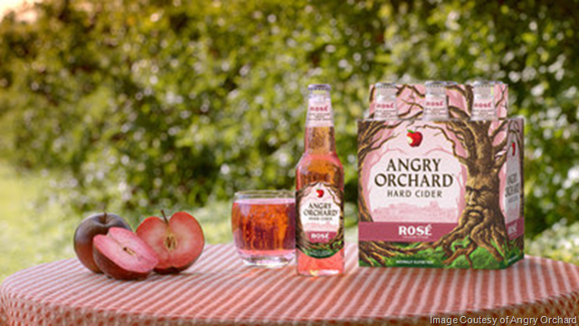 Angry Orchard Adding Rosé Hard Cider