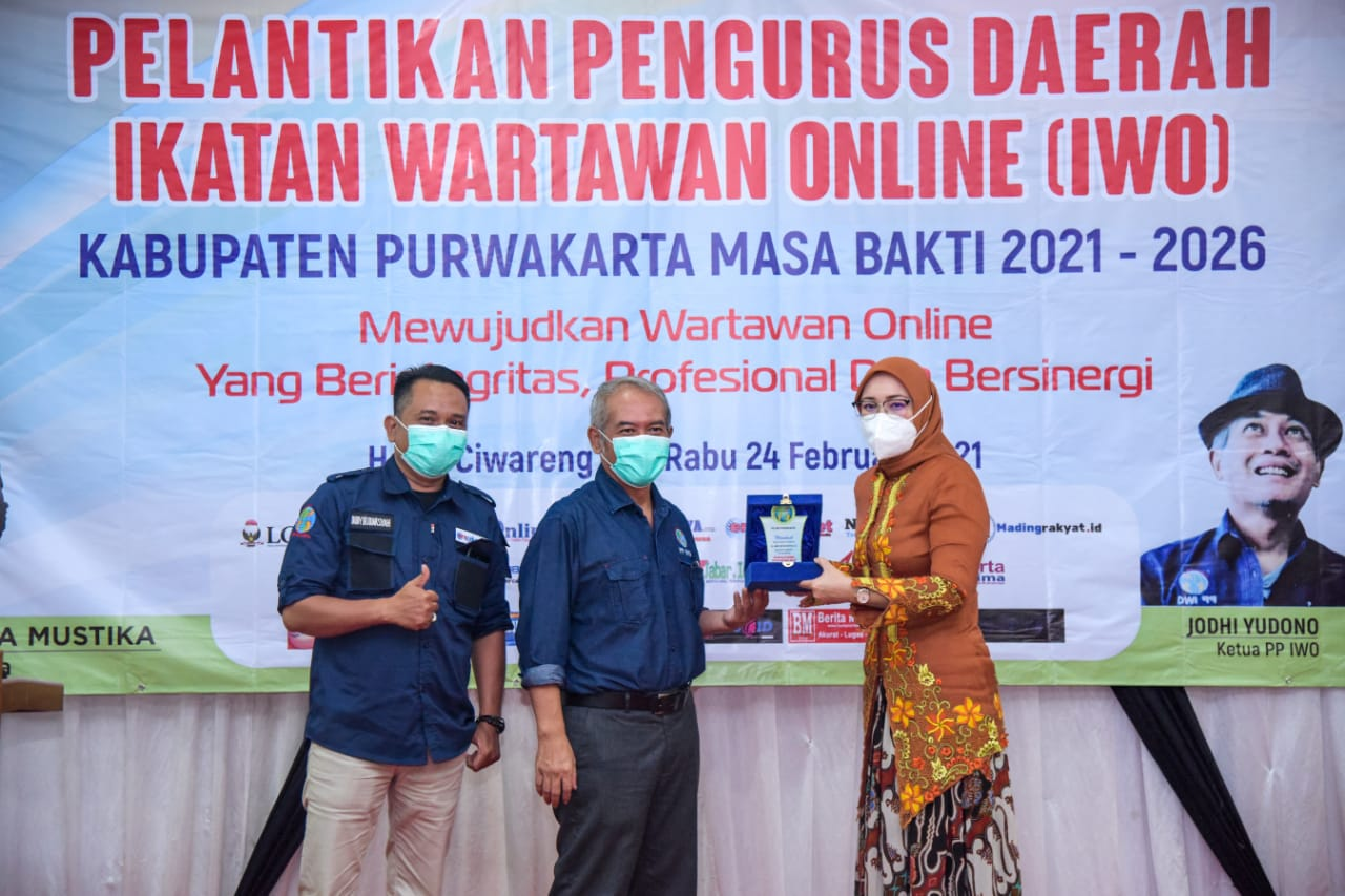 Bupati Purwakarta : Peran IWO itu Sangat Besar Dalam Penyampaian Informasi
