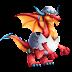 Dragón Huevo Rojo | Red Egg Dragon