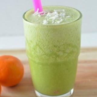 Green Smoothies with Florida Orange Juice!.