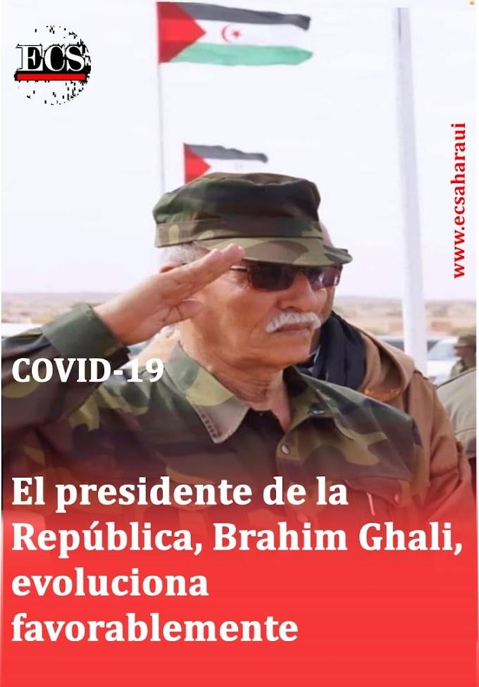 El presidente de la República permanece estable en el hospital con coronavirus.