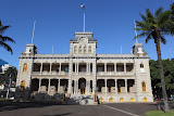 Iolani Palace – the palace of Hawaii`s former king (© 2010 Bernd Neeser)