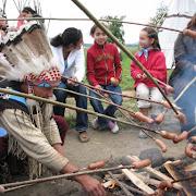 Wycieczka doSrebrnej Gory, Wioska Indianska.2.IMG_4921.jpg
