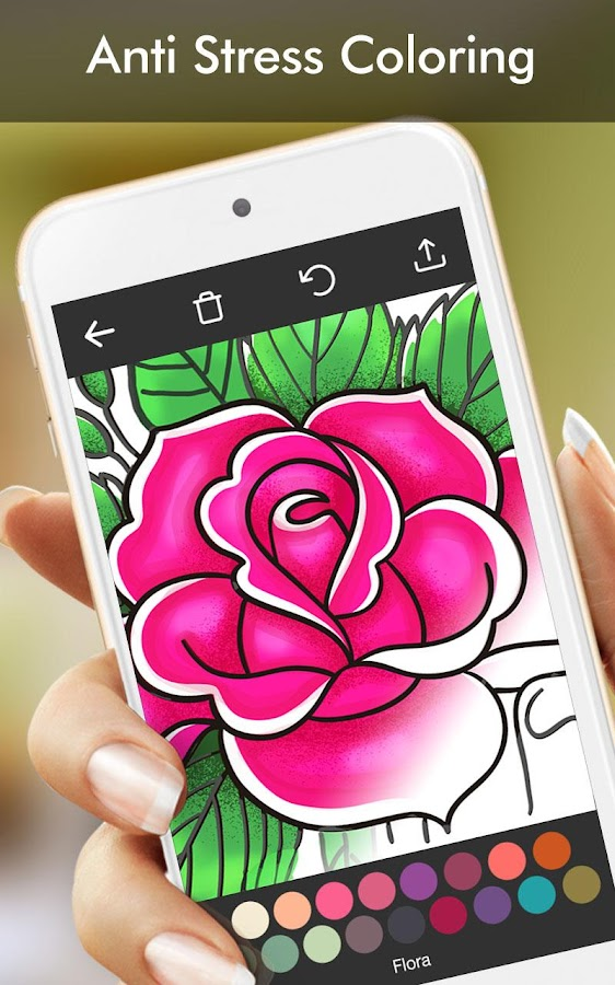 coloring book app for adults enchanted forest screenshot - Coloring Book App For Adults