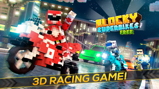 Blocky Superbikes Race Game - Motorcycle Challenge apkmr screenshots 4