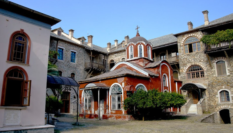 35. Holy Monastery of Iviron. The Catholicon (Main Church).
