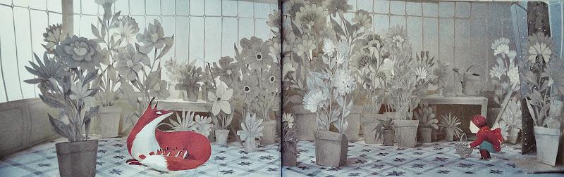 겨울 그림책_여우의 정원