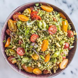 Kale Pesto Sorghum Salad