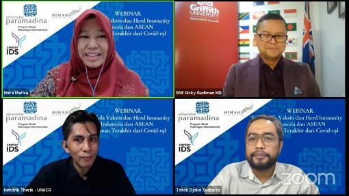Pakar Sorot Tata Kelola Vaksin dan Herd Immunity di Indonesia dan ASEAN, Ini Kata Mereka