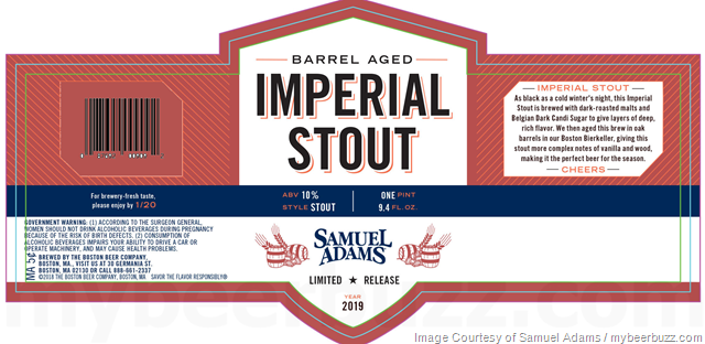 Samuel Adams Barrel Aged Imperial Stout Coming In 2019