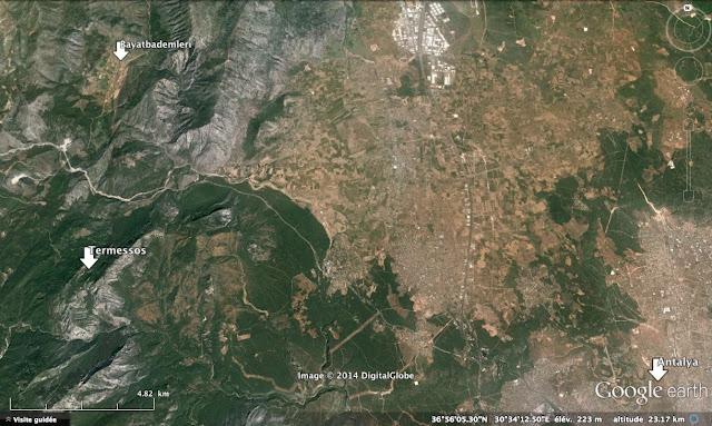 Bayatbademleri et le site archéologique de Termessos, à l'ouest d'Antalya