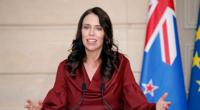 New Zealand's Ardern talked with Queen about epidemics reaction