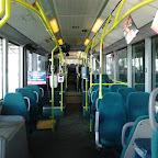 het interieur van de Mercedes Citaro van Connexxion bus 9153 (met licht)