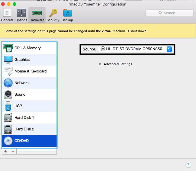 26 the Host OS Configuration Menu