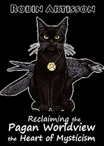 Cover of Robin Artisson's Book Reclaiming the Pagan Worldview The Heart of Mysticism