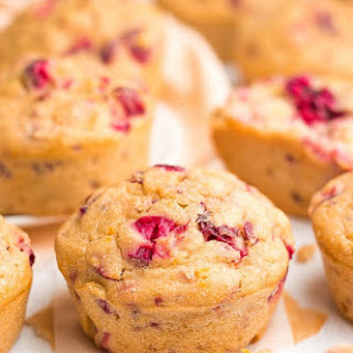 The Ultimate Healthy Cranberry Orange Muffins.