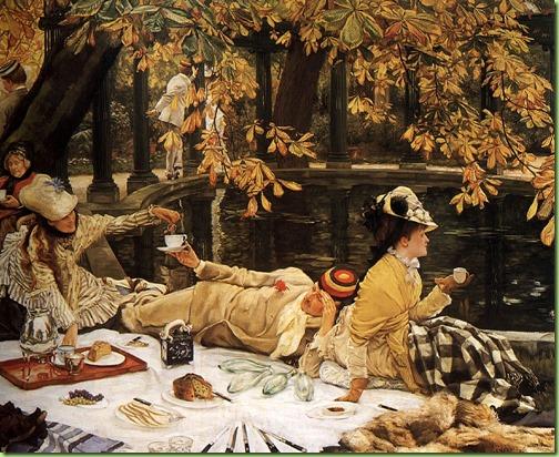 tissot  The Picnic 1879