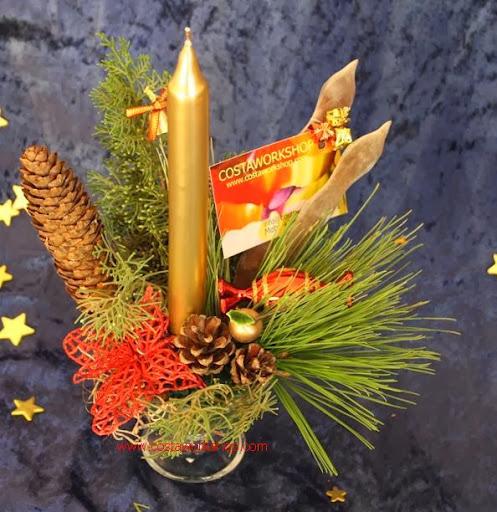4 kerststukje glas goud rood w.JPG