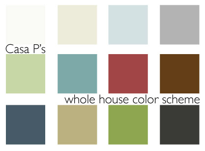 The Redheaded Stepchild The New Casa P Color Scheme