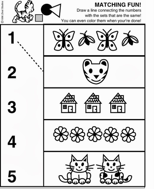 1000+ images about Pre-K Number worksheets on Pinterest