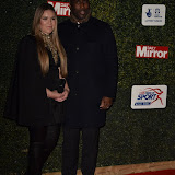 OIC - ENTSIMAGES.COM - Sol Campbell and wife Fiona Barratt-Campbell at the  Daily Mirror Pride of Sport Awards  London 25th November 2015 Photo Mobis Photos/OIC 0203 174 1069