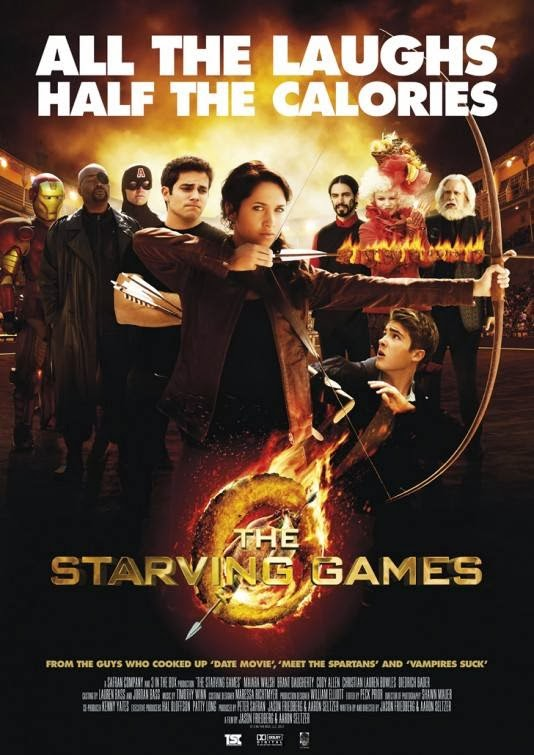 Poster Of English Movie The Starving Games (2013) Free Download Full New Hollywood Movie Watch Online At alldownloads4u.com