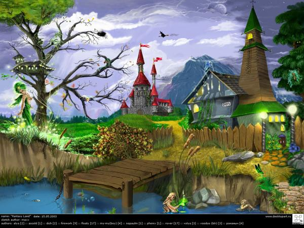 Weird Lands Of Sorrow 2, Magical Landscapes 3