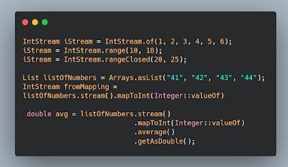 Java 8 IntStream Examples - range, rangeClosed, sum and sorted