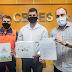 Defesa Civil Estadual realiza entrega de drone a Prefeito de Conceição da Barra