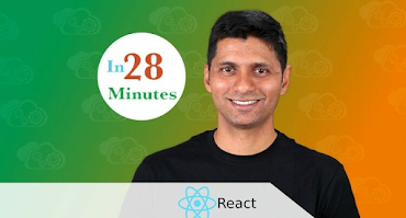 best spring boot and react online course