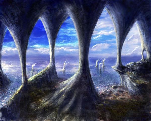 Blue Sea Of Magic, Magical Landscapes 1