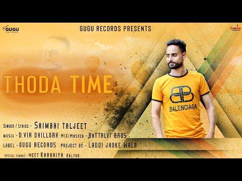 Thoda Time Lyrics Saimbhi Taljeet