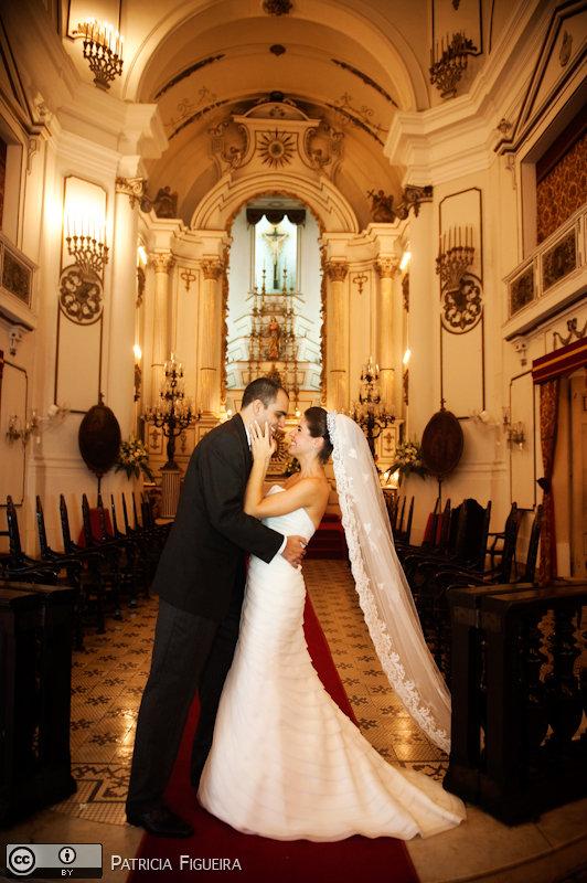 Foto de casamento 1625 de Juliana e Rafael. Marcações: 16/07/2010, Casamento Juliana e Rafael, Rio de Janeiro.
