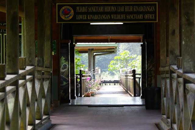 Lower Kinabatangan Wildlife Sanctuary office. Sukau, 8 août 2011. Photo : J.-M. Gayman