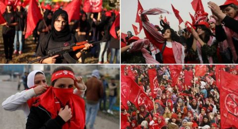 Orang-orang Komunis di Sisi Kiri Jalur Gaza Palestina