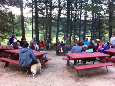 stories around the campfire www.thebrighterwriter.blogspot.com
