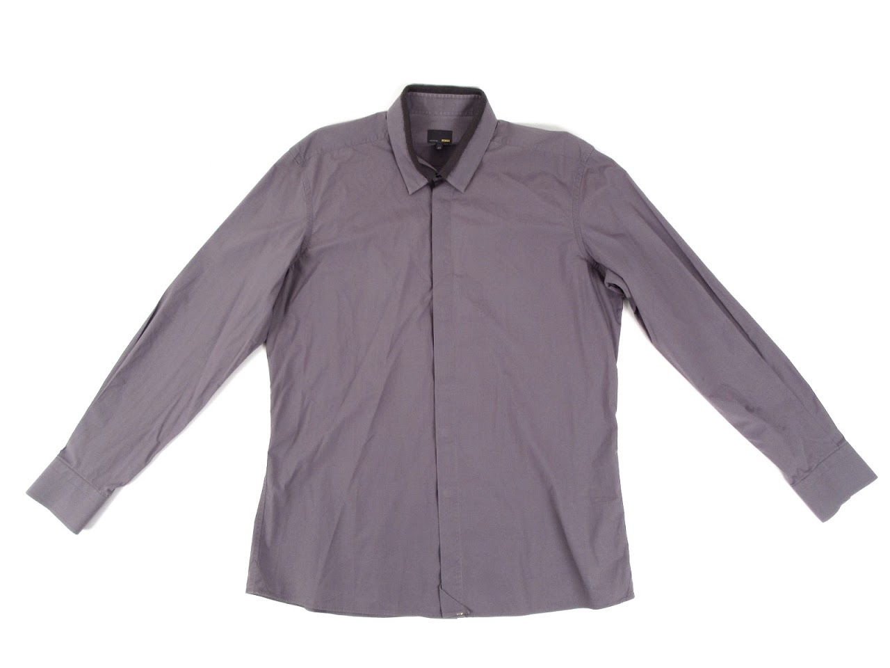 Fendi Ombre Long Sleeve Dress Shirt