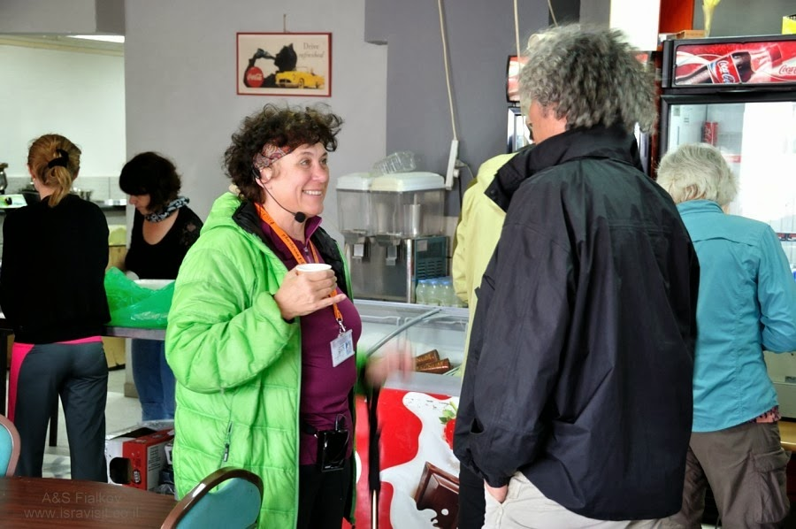 Встреча гидов. Экскурсия на Голаны гида в Израиле Светланы Фиалковой