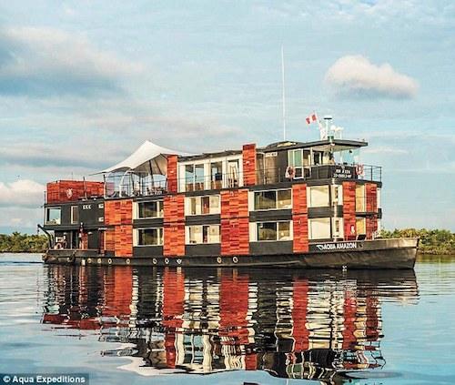 Hinh anh: Tau Aqua Amazon thoi diem truoc khi xay ra tai nan Anh eAqua Expeditionse