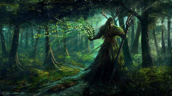 Druid By Edli D2zocxe, Celtic And Druids